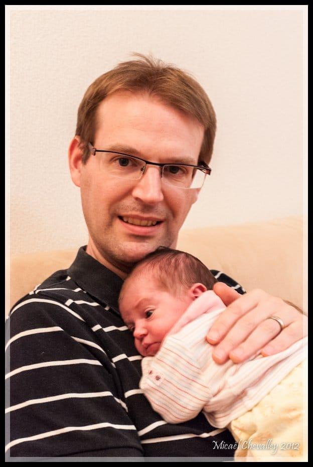 Tamara et papa