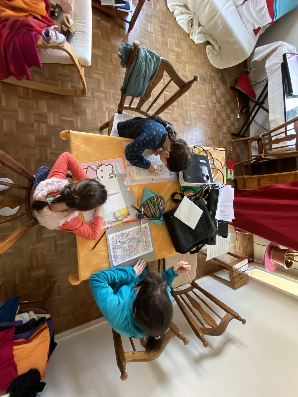 Ecole et famille à la maison
